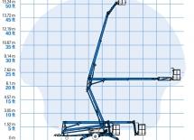 přívěsná plošina Genie TZ-50 trailer-mounted boom Genie TZ-50