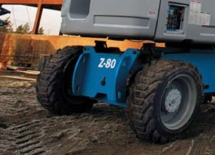 Z-8060 Traction for irregular terrain
